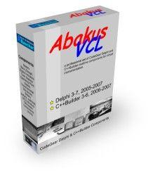 Abakus VCL 6.00.8 for Delphi 7, BDS 2007-2010 & RAD Studio XE-XE8
