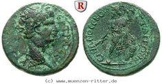 RITTER Mysien, Attaia, Traianus, Zeus, Adler #coins