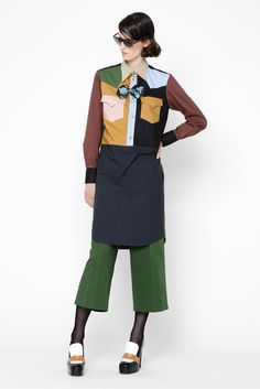 Marni Resort 2013 Fashion Show - Marte Mei van Haaster
