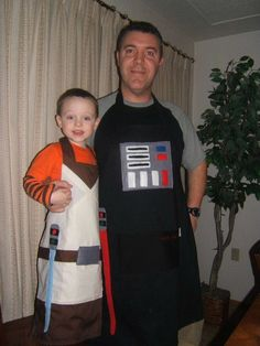 Star Wars Daddy and Me Apron Set, $46.50