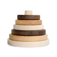 Circle Sapling Stacker Toy-Wood Toys-Little Sapling Toys