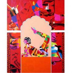 Yoga by Ravi Kattakuri; I envy those who know how to do yoga. But I also love this piece because of its inclusion of Ayurvedic posturing. Rise Art, Mothering Sunday, Happy Saturday, Magazine Art, Limited Edition Prints, How To Do Yoga, Art Blog, New Art, Original Art