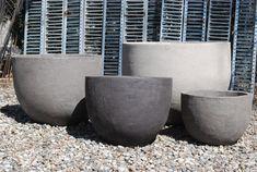 Contemporary Belgian Stoneware Pots – U Series