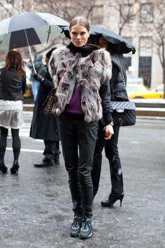 At Fashion Week
