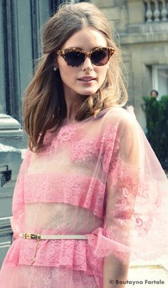 Olivia Palermo for Valentino fall 2012