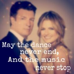 May the dance never end, and the music never stop.