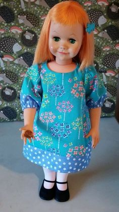 Dolls and Pretty Things: Doll Make Over: Vogue Brikette