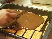 Homemade Kit-Kat Bars. No way. Paula Deen, you are my hero...LOL