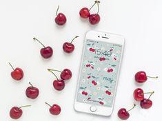 Sfondo gratuito smartphone | maggio | Le Petit Rabbit Mockup, Smartphone, Kawaii, Templates, Fruit, Wallpaper, Mini, Phone Cases, Stencils