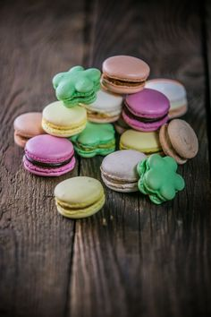 Colourful and delicious macarons at Sofitel Budapest Chain Bridge