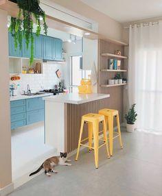Outdoor kitchen: 45 ideas of decoration with photos - Home Fashion Trend Hacienda Kitchen, Farmhouse Style Kitchen, Modern Farmhouse Kitchens, Home Decor Kitchen, Kitchen Design, Home Design, Decor Interior Design, Interior Decorating, Cocina Shabby Chic