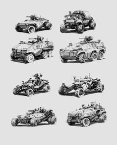 Discover a selection of artworks made by Alex Ichim, a Romanian Concept Artist & Illustrator based in Bucharest. Car Design Sketch, Futuristic Cars, Military Equipment, Armored Vehicles, Automotive Design, Concept Cars, Cyberpunk, Military Vehicles, Art Reference