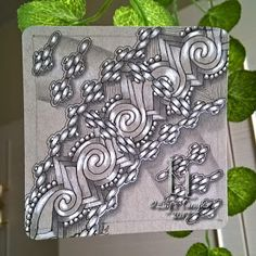 Lily's Tangles: New tiles from last 3 weeks.