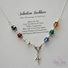 Beautiful Salvation Necklace project #bestbuybeads