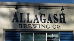 Allagash Brewing Company in Portland, ME