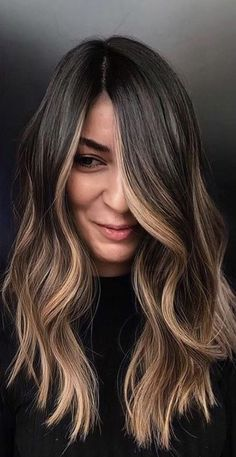 Asian Hair Dye, Hair Color Asian, Hair Color For Black Hair, Brown Hair Colors, Bilage Hair, Dye My Hair, New Hair, Hair Dying Ideas, Sandy Hair