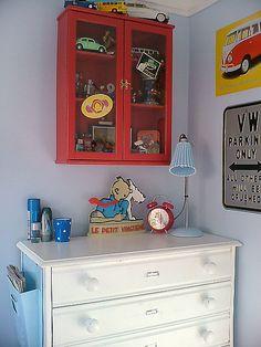 Harrys room by prettyshabby, via Flickr