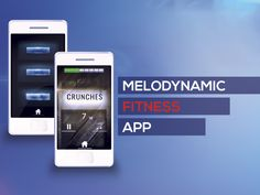 A new up and coming fitness app from Melodynamic Studios