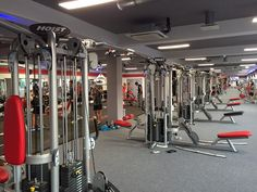 The largest installation of a HOIST CMJ Commercial Multi Jungle at the Hungarian MECCA of Bodybuilding Gym.