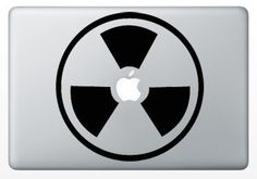 Macbook Funny Humor Decal Sticker Apple Active
