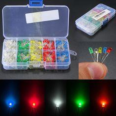 $4.29 (Buy here: https://alitems.com/g/1e8d114494ebda23ff8b16525dc3e8/?i=5&ulp=https%3A%2F%2Fwww.aliexpress.com%2Fitem%2FBest-Price-500Pcs-3mm-5mm-LED-Light-Emitting-Diode-Assortment-Kit-DIY-White-Yellow-Red-Blue%2F32723545386.html ) Best Price 500Pcs 3mm/5mm LED Light Emitting Diode Assortment Kit DIY White/Yellow/Red/Blue/Green Plastic Material for just $4.29