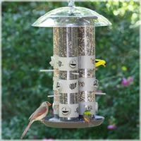 Birdscapes® 2-in-1 Triple Tube Feeder  Best Used For: Feeding wild birds. The nine perch/feeding station set-up makes this feeder one of the most economical and convenient of tube bird feeders on the market!  http://websites-buy.com/httpwww.birdfeeders.com $67.93
