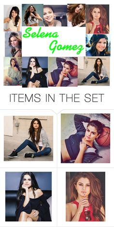 """""""Selena Gomez is my inspiration!"""" by basketballislife11 ❤ liked on Polyvore featuring art"""