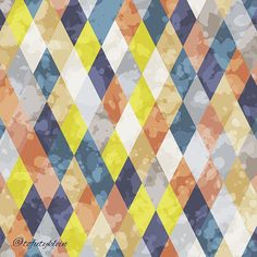 Geometric pattern. #surfacepattern #draw #background #paint #vector #colorful #drawing #illustration #decoration #design #abstract #pattern #geometric #hipster #grunge #graphic #painting #textile #texture #fabric #creative #art #artistic #mywork #myart #i   Flickr - Photo Sharing!