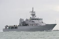 HMNZS Wellington (P-55) is a Protector-class off shore patrol vessel in the Royal New Zealand Navy. She was accepted into the Royal New Zealand Navy on 06 May 2010 and arrived at the Devonport (Auckland) Naval Base the following month.