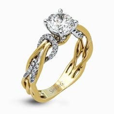 Fabled collection engagement ring from @simongjewelry