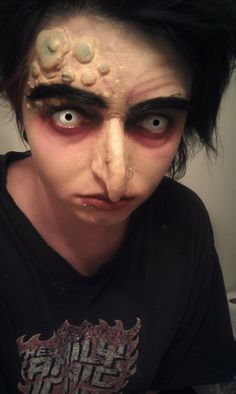 Troll Theatre Makeup