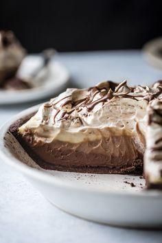 Chocolate Caramel Cream Pie