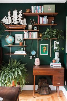 scandinavian home office - home Office Scandinavianscandinavian home office - home Office Green Room Decor Ideas to Create a Quiet and Relaxing Room - Furnishing Green Room Decor Ideas to create a quiet Home Office Design, Home Office Decor, Office Ideas, Vintage Office Decor, Ikea Office, Office Spaces, Work Spaces, Small Office, Green Office
