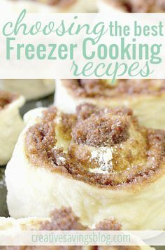 Knowing which foods to freeze are one of the first steps to freezer cooking. Follow these tips for choosing the best freezer cooking recipes!