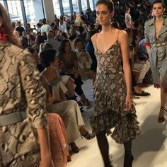 (Boomerang video on ig) New York Fashion Week @altuzarra #altuzarra #nyfw #glamourgoesfashionweek