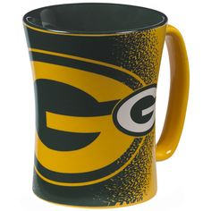 Green Bay Packers Mocha Mug at the Packers Pro Shop http://www.packersproshop.com/sku/2004358258/