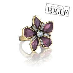 Papillon Nocturne Statement Ring seen in Vogue buy it here perfect gift and stocking stuffer https://www.chloeandisabel.com/boutique/breeoriginal#47223