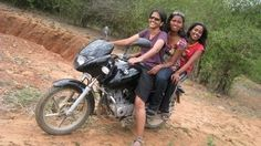 "india girls on bike welcomes-Women empowerment-Save A Girl Child-""Beti Bachao-Beti Padhao"" : biker girls 6"