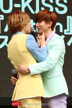 Kevin and Kiseop