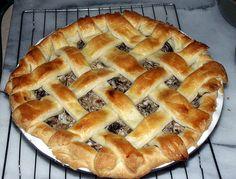 Finnish Mushroom Pie. I gotta try this!