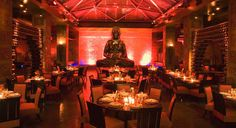 Buddha Bar NYC:  This mixture of eclectic Asian decor, our enchanting food and hypnotizing music from DJ Timka, all serve to create an unforgettable experience that is sure to lure guests back over and over again.