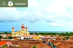 Follow @mjmpaz: View of #Granada #Nicaragua from La Merced #Church - #ILoveGranada #AmoGranada #Travel