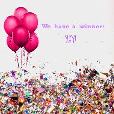 We have a winner!  www.trishasmith.jamberrynails.net  trishaeverhartsmith@gmail.com