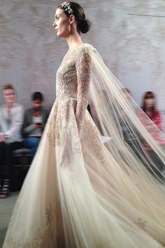 Monique Lhuillier New York Bridal Week 2015
