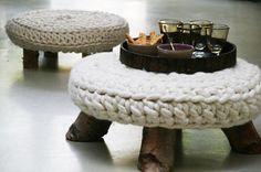 Вязаный декор в интерьере :: Фото красивых интерьеров