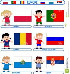 Illustration of clothing - 5387326 Multicultural Crafts, Flags Europe, 9 Mai, All In One, Crafts For Kids, Clip Art, Costumes, Cartoon, Marketing