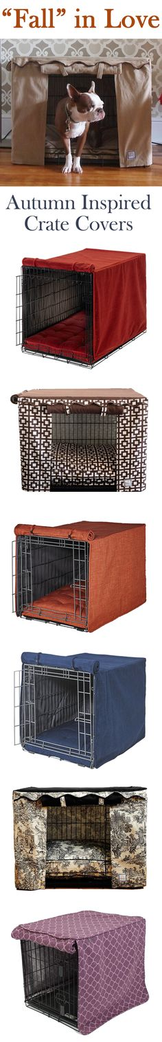 Transform your dog's crate into a beautiful retreat that you will both enjoy! Shop our selection of crate covers at FelixChien.com