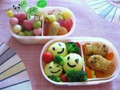 Preschool Bento box w/mini fish cutlets