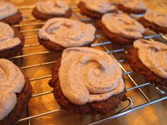 Pumpkin Flax Cookies with Almond Butter Icing (low carb, keto)   Ruled Me