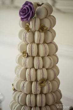 Macaron Tower by Sweet Celebrations Tall Wedding Cakes, Luxury Wedding Cake, Wedding Dress Cake, Beautiful Wedding Cakes, Wedding Desserts, Wedding Hors D'oeuvres, Wedding Decor, Macaron Tower, Macaron Cake